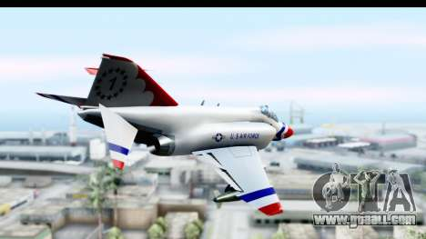 F-4 Phantom II Thunderbirds for GTA San Andreas right view