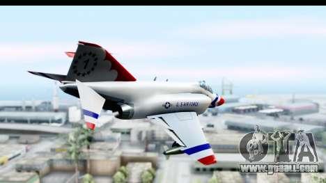 F-4 Phantom II Thunderbirds for GTA San Andreas right view