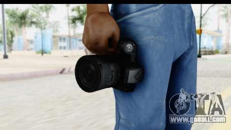 Nikon D600 for GTA San Andreas third screenshot