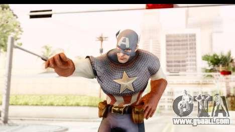 Marvel: Ultimate Alliance 2 - Captain America for GTA San Andreas