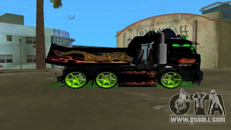 KAMAZ 65115 TUNING for GTA Vice City left view