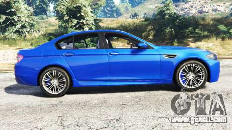GTA 5 BMW M5 (F10) 2012 [replace] left side view