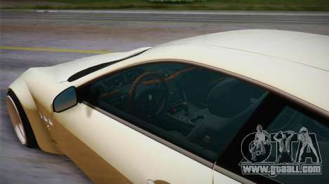 Maserati Gran Turismo Rocket Bunny for GTA San Andreas back view