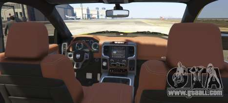 GTA 5 Dodge Ram Limited 2016 rear left side view
