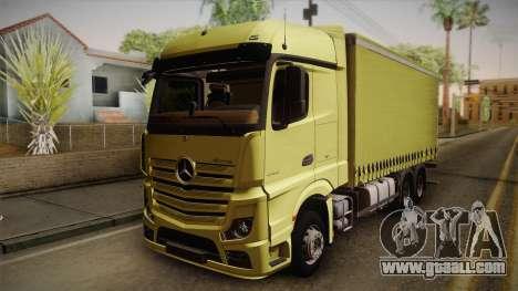 Mercedes-Benz Actros Mp4 v2.0 Tandem Big for GTA San Andreas