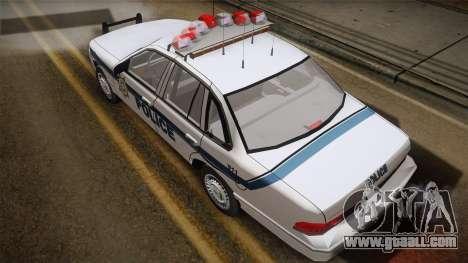 Ford Crown Victoria 1997 El Quebrados Police for GTA San Andreas back left view