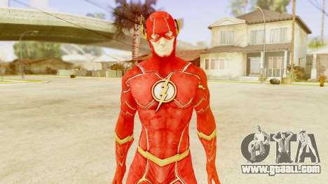 Injustice God Among Us Flash New 52 Edited Model for GTA San Andreas third screenshot