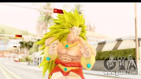 Dragon Ball Xenoverse Broly SSJ3 for GTA San Andreas
