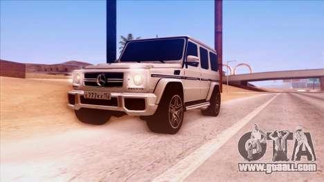 Mercedes-Benz G65 for GTA San Andreas