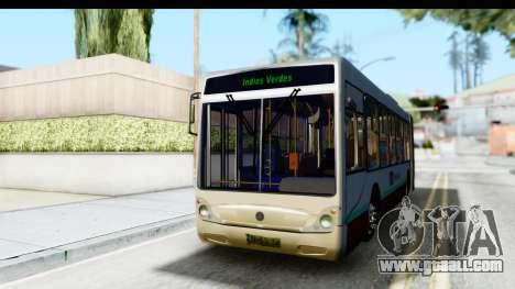 Metrobus de la Ciudad de Mexico for GTA San Andreas right view