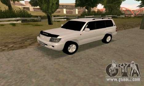Toyota Land Cruiser 105 for GTA San Andreas