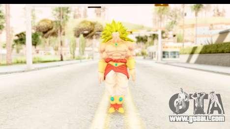 Dragon Ball Xenoverse Broly SSJ3 for GTA San Andreas second screenshot