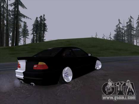 BMW E46 Good and Evil for GTA San Andreas back view
