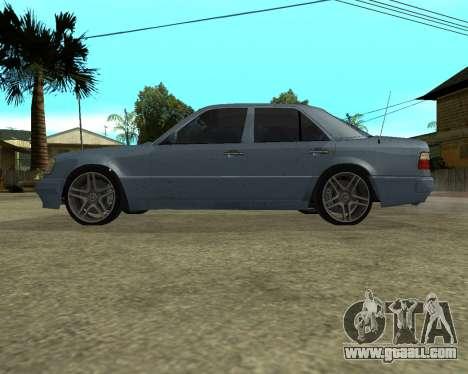 Mersedes-Benz E-500 Armenian for GTA San Andreas bottom view