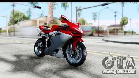 MV Agusta F4 for GTA San Andreas right view