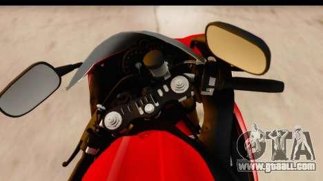 Yamaha R1 2014 for GTA San Andreas back view