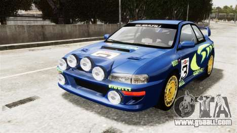 Subaru Rally WRC Impreza 98 v8 for GTA 4