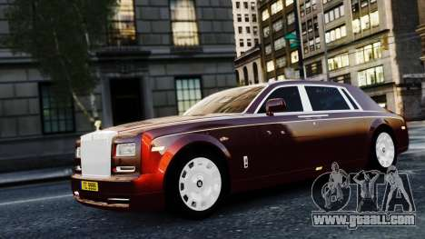 Rolls-Royce Phantom EWB 2013 for GTA 4 back view