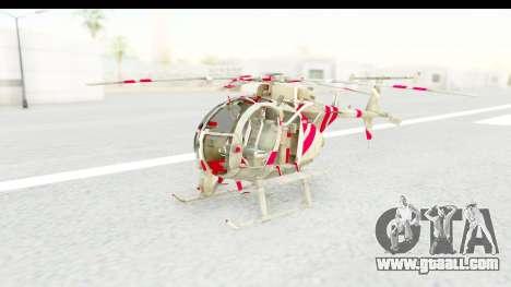 Smaga Sparrow Helis Military Version for GTA San Andreas right view