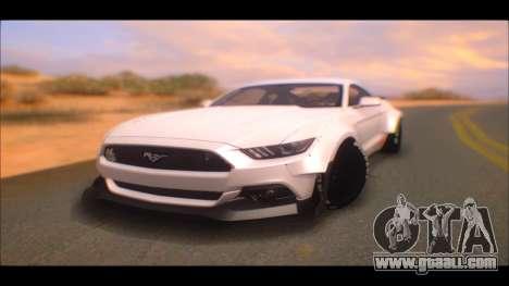 Ford Mustang 2015 Liberty Walk LP Performance for GTA San Andreas