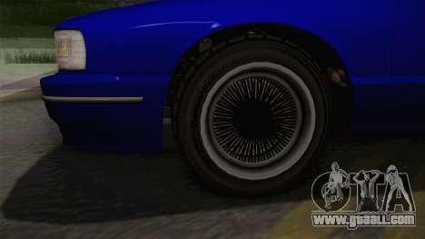 Declasse Premier 1992 IVF for GTA San Andreas back view