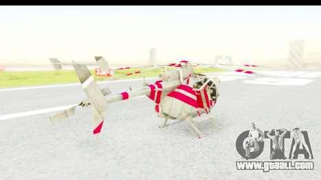 Smaga Sparrow Helis Military Version for GTA San Andreas left view