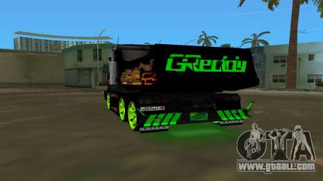KAMAZ 65115 TUNING for GTA Vice City back left view