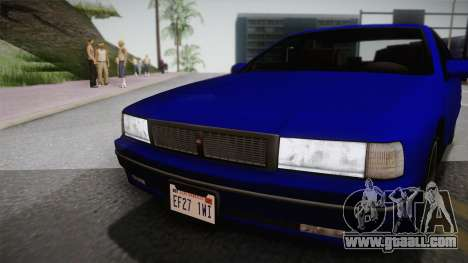 Declasse Premier 1992 IVF for GTA San Andreas back left view