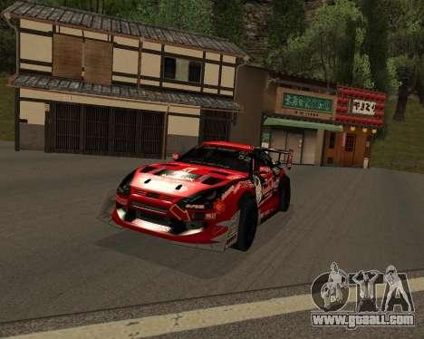 D1GP Toyota Supra Hadaka Supra JZA80 for GTA San Andreas