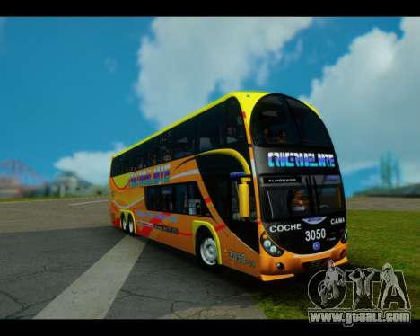 Metalsur Starbus II CRUCERO DEL NORTE for GTA San Andreas