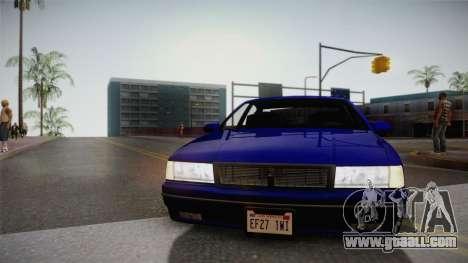 Declasse Premier 1992 IVF for GTA San Andreas inner view