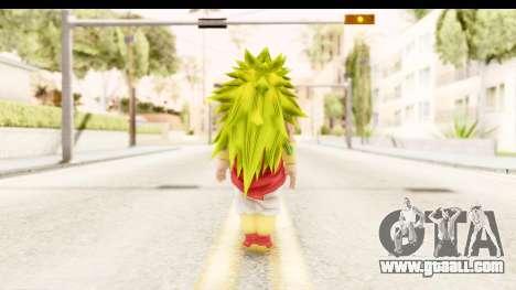 Dragon Ball Xenoverse Broly SSJ3 for GTA San Andreas third screenshot