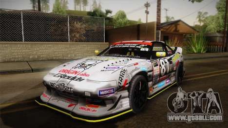 D1GP Nissan 180SX BWest Origin Labo for GTA San Andreas