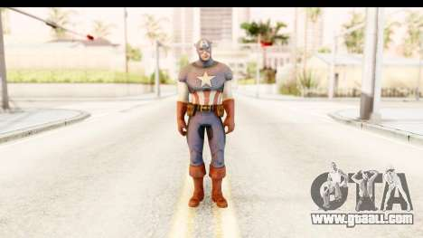 Marvel: Ultimate Alliance 2 - Captain America for GTA San Andreas