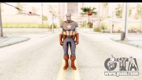 Marvel: Ultimate Alliance 2 - Captain America for GTA San Andreas second screenshot