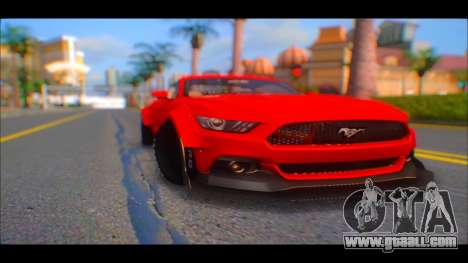 Ford Mustang 2015 Liberty Walk LP Performance for GTA San Andreas right view