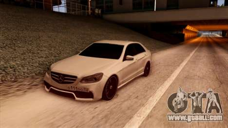 Mercedes-Benz Е63 for GTA San Andreas