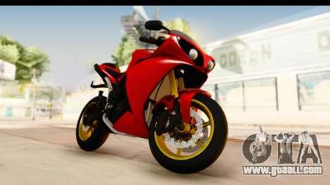 Yamaha R1 2014 for GTA San Andreas