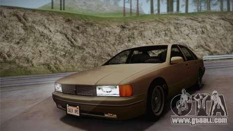 Declasse Premier 1992 SA Style for GTA San Andreas