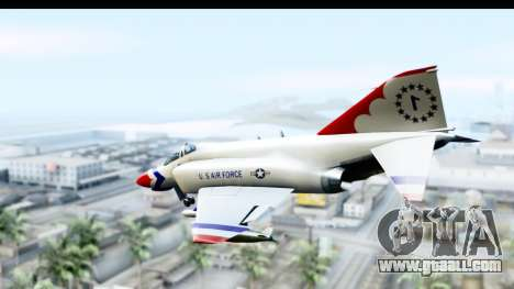 F-4 Phantom II Thunderbirds for GTA San Andreas left view