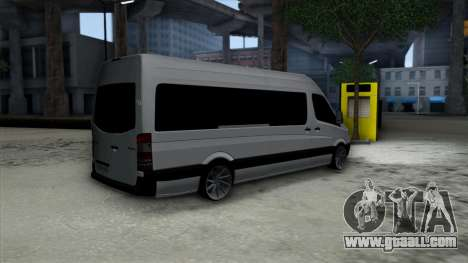 Mercedes-Benz Sprinter for GTA San Andreas right view
