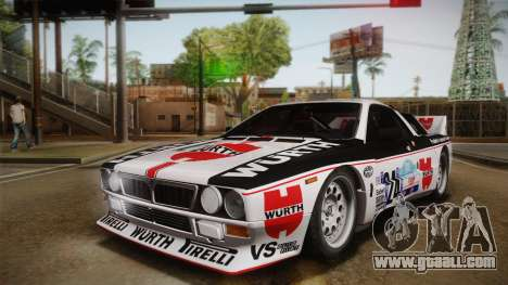 Lancia Rally 037 Stradale (SE037) 1982 Dirt PJ3 for GTA San Andreas left view