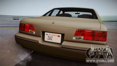 Declasse Premier 1992 SA Style for GTA San Andreas right view