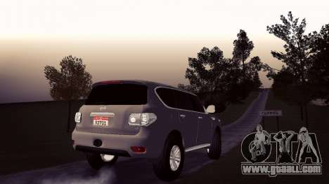 Nissan Patrol for GTA San Andreas left view