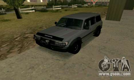 Toyota Land Cruiser 80 for GTA San Andreas