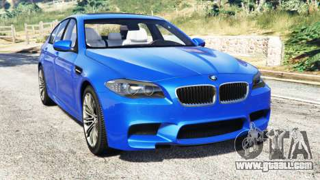 BMW M5 (F10) 2012 [replace] for GTA 5