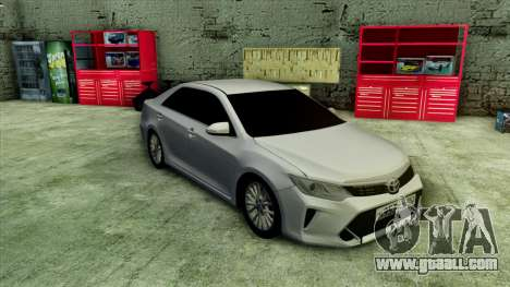 Toyota Camry 2016 v.2 for GTA San Andreas left view