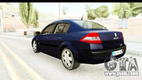 Renault Megane 2 Sedan 2003 v2 for GTA San Andreas left view