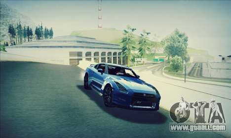 Nissan GT-R R35 Premium for GTA San Andreas
