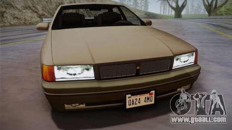 Declasse Premier 1992 SA Style for GTA San Andreas back left view